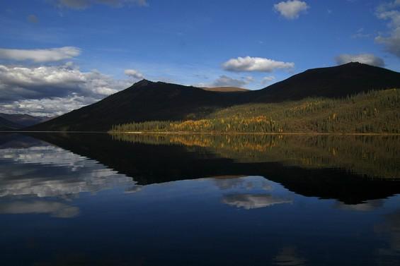 Fall's Reflection, Brooks Range Mountains