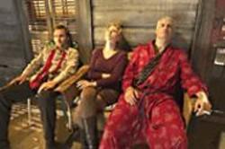 RON  PHILLIPS - Family Matters: Gabriel Macht, Scarlett - Johansson, and John Travolta.
