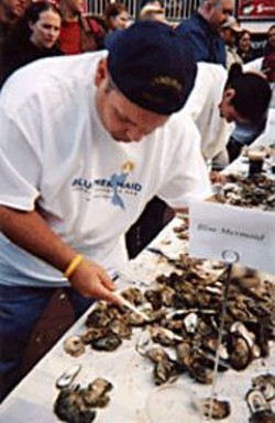 Fast Hands and a Strong Stomach: The - Shuck & Swallow Oyster Challenge.