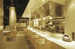 ANTHONY  PIDGEON - Fat Wallets Only: Ozumo's swanky décor is nice, but you'll pay through - the nose to experience it.