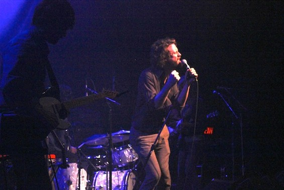 Father John Misty at the Fillmore last night.