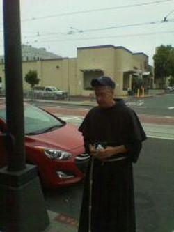 Father Paul Gawlowski led the Memorial service for Bryan Higgins