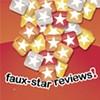 Faux-star reviews!