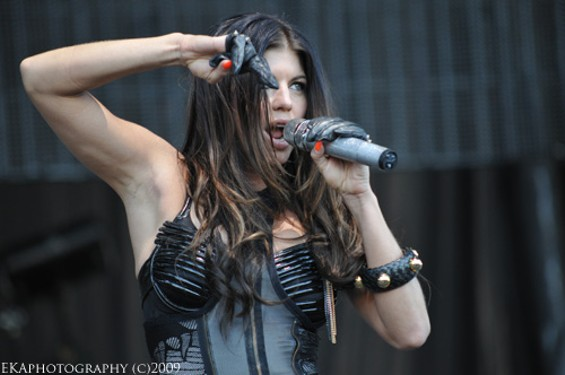Fergie of Black-Eyed Peas - EKAPHOTOGRAPHY