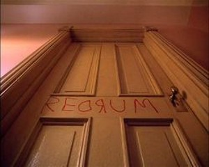 """Fewer opporuntities to say """"redrum"""" in California"""