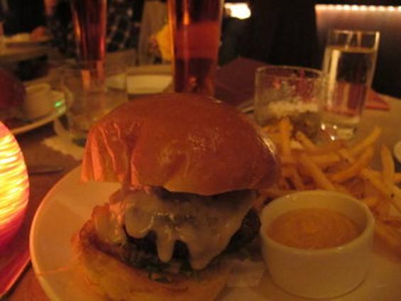 Fifth Floor's Mighty Burger. - JESSE HIRSCH