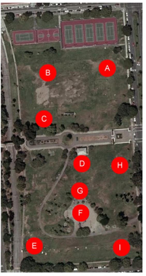Dolores Park Map