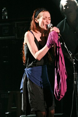 Fiona Apple at the Fox