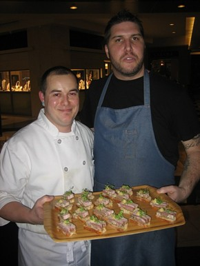 Fish & Farm's Ben Sebastien (left) and Chad Newton. - M. LADD