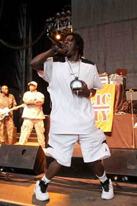 Flavor Flav always has the time. - CHRISTOPHER VICTORIO