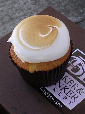 Fluffernutter cupcake ($3.50). - JOHN BIRDSALL