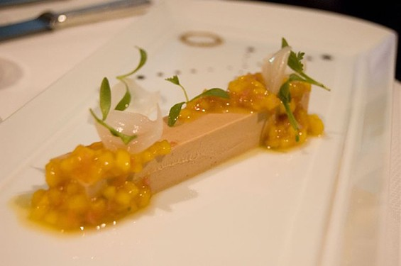 Foie gras terrine at French Laundry. - ULTERIOR EPICURE/FLICKR