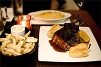 Fancy beef at extravagant prices at 5A5 Steak Lounge