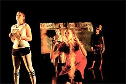 Found and Lost: Goals for 2002 is one of dozens of plays at this year's Fringe.