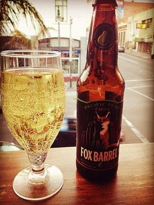 Fox Barrel Pacific Pear Cider, Upcider - FANNY Z.