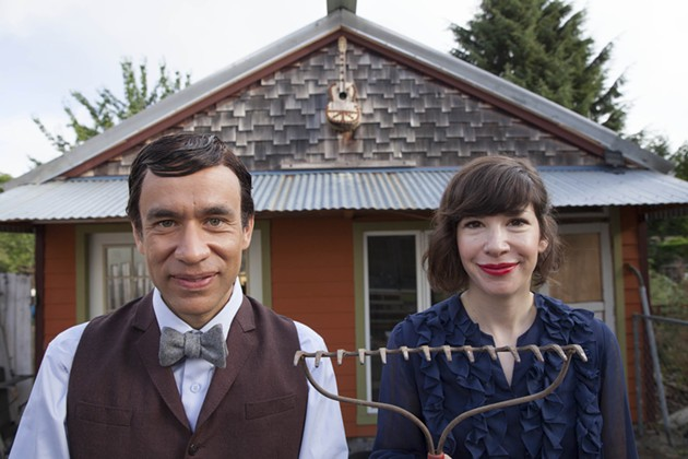 Fred Armisen and Carrie Brownstein, the creators of Portlandia. - IFC.COM