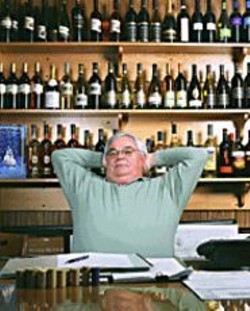 "GABRIELA  HASBUN - Fred Franzia in His Office: ""If anyone should - be worried it's the Napa vintners, because - we sure as hell aren't going away."""