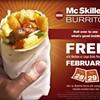 Free McSkillet Burritos: Hey, It's Free Food
