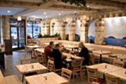JAMES  SANDERS - Free Range: GFC's attractive and spacious - new dining room.