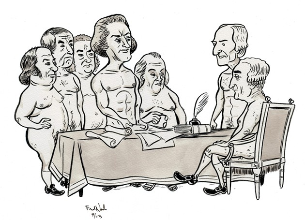 Free-Swinging Expression: San Francisco Nudists and the Founding Fathers For SF Weekly - FRED NOLAND