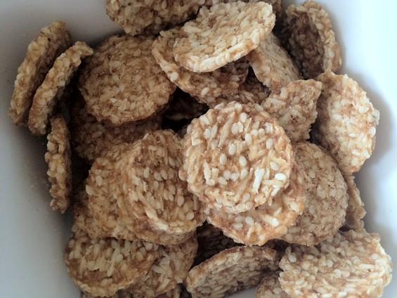 Freeland Foods' Ginger Snaps Super Cookies. - TAMARA PALMER