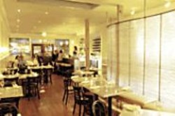 ANTHONY  PIDGEON - Fresh Catch: Café Maritime reminds us of - our dream of a little fish place on the French - coast.