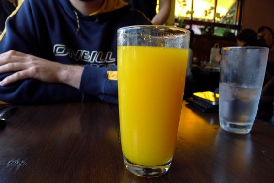 Fresh-squeeze orange juice