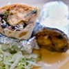 Plantain Burrito at The Little Chihuahua on 24th