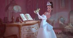 Frog meets princess.