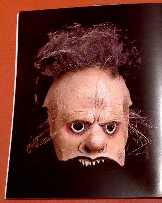 """From """"In Masks the Times Proceed: The Works of Make-Up Artist Wolfgang Utz"""""""