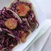 Tofu-Kimchi Tacos from TaKorea