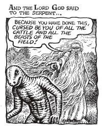 From R. Crumb's The Book of Genesis Illustrated