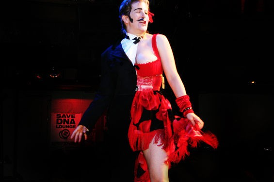 From the 14th annual S.F. Drag King Contest - HANNA QUEVADO