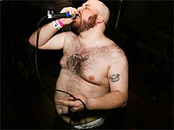 KELLY O - Fucked Up frontman Pink Eyes