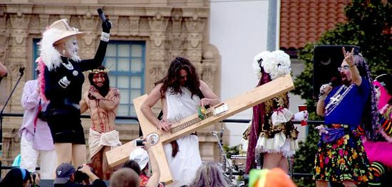 Funky Jesus knows how to rock. - MICHAEL DEVIN