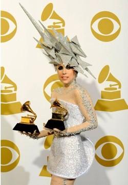 Gaga at the Grammys