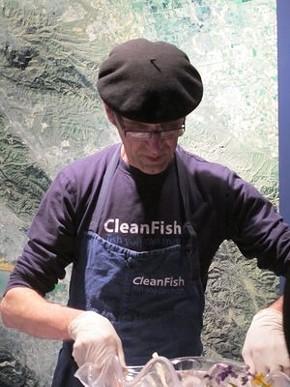Gallic charmer from CleanFish. - SARAH KERMENSKY