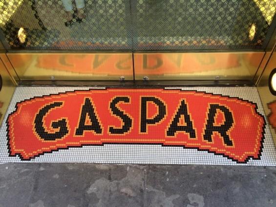 Gaspar's mosaic entry. - PETE KANE
