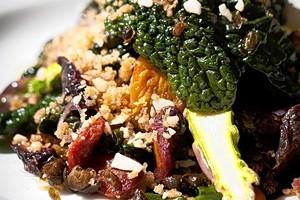 Gather's vegan Caesar. - WSJ