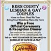 Gay and Stuck in Kern County?  Win a Free Berkeley Wedding!