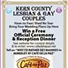 Gay and Stuck in Kern County?  Win a Free Berkeley Wedding!