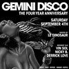 Exclusive: Gemini Disco's 'Goodbye Gemini' DJ Mini-Mix