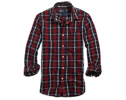 Gen X bandit wears plaid shirts