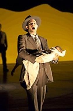 TERRENCE  MCCARTHY - Gerald Finley as J. Robert Oppenheimer.
