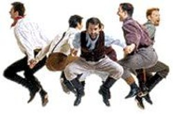 MARTY  SOHL - Getting High: The Barbary Coast Cloggers - perform during National Dance Week.
