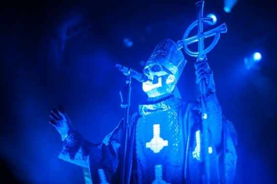 Ghost at the Regency Ballroom last night. - RICHARD HAICK