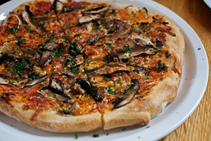 Gialina's Atomica pizza. - LORUM IPSUM/FLICKR