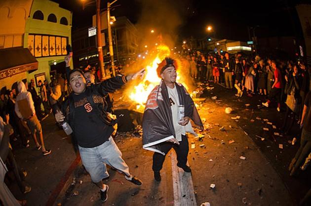 Giants Fans Go on a Tear in San Francisco
