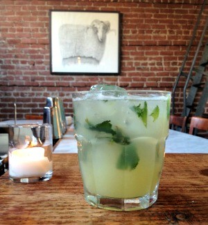 Ginger-mint soda at Boot and Service - HORTENSIA MITURA