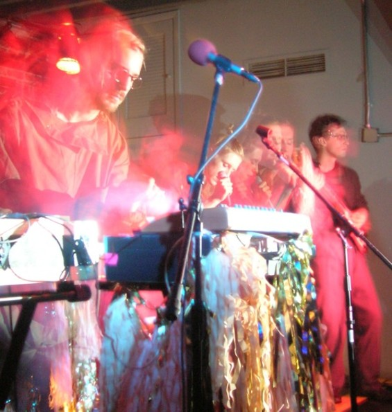 Glasser at Popscene last night.